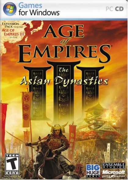 Bestselling Games (2008) - Age of Empires III: The Asian Dynasties Expansion Pack