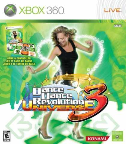 Bestselling Games (2008) - Dance Dance Revolution Universe 3 with Dance Mat