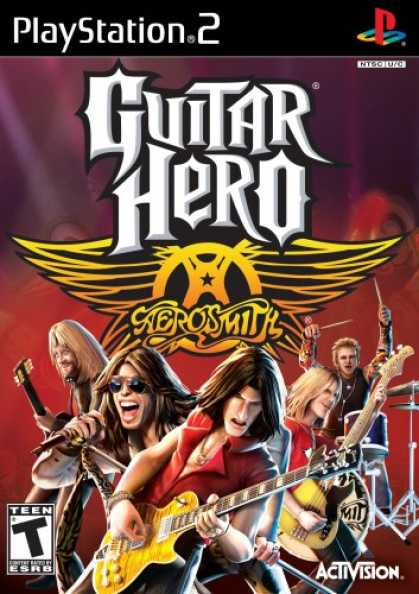 Bestselling Games (2008) - Guitar Hero Aerosmith Playstation 2