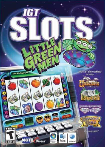 Bestselling Games (2008) - IGT Slots: Little Green Men