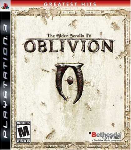 Bestselling Games (2008) - The Elder Scrolls IV: Oblivion