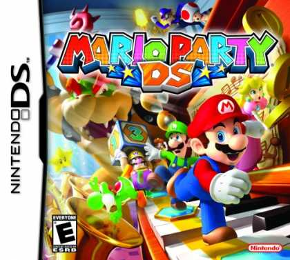Bestselling Games (2008) - Mario Party DS