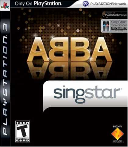 Bestselling Games (2008) - SingStar ABBA (Stand Alone)