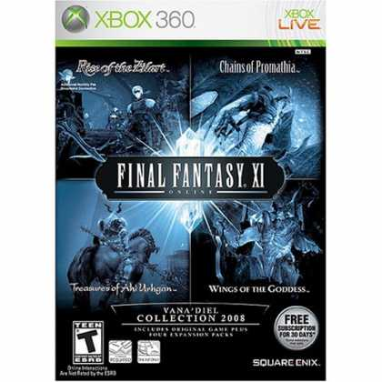 Bestselling Games (2008) - Final Fantasy XI Online: The Vana'diel Collection 2008