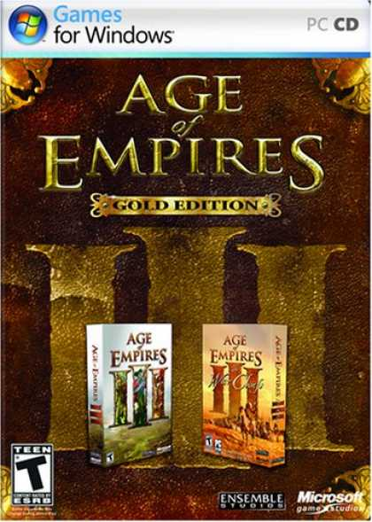 Bestselling Games (2008) - Age of Empires III, Gold Edition