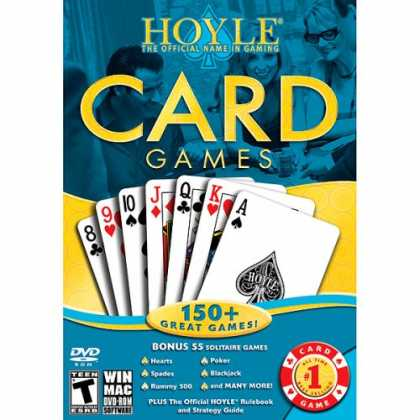 Bestselling Games (2008) - Hoyle Card Games 2008 [OLD VERSION]