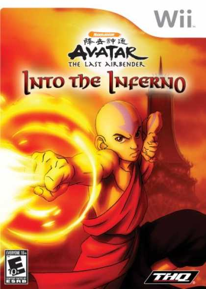 Bestselling Games (2008) - Avatar: The Last Airbender-Into the Inferno