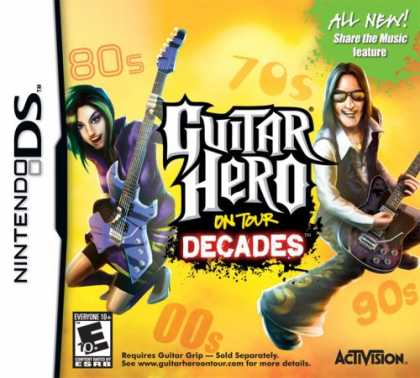 Bestselling Games (2008) - Guitar Hero on Tour Decades - Software Only