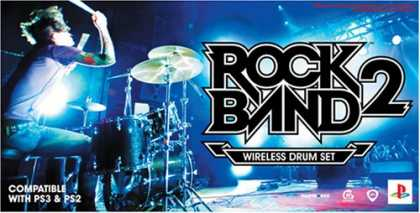Bestselling Games (2008) - Rock Band 2 Standalone Drums