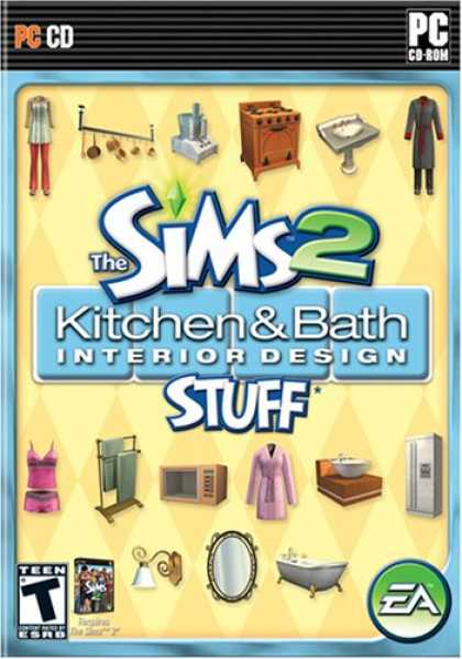 Bestselling Games (2008) - The Sims 2: Kitchen & Bath Interior Design Stuff