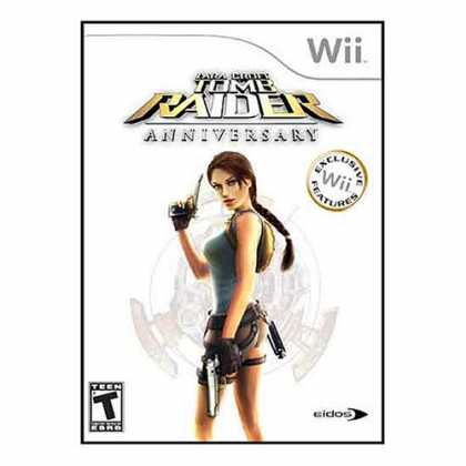 Bestselling Games (2008) - Tomb Raider Anniversary (Wii Edition)