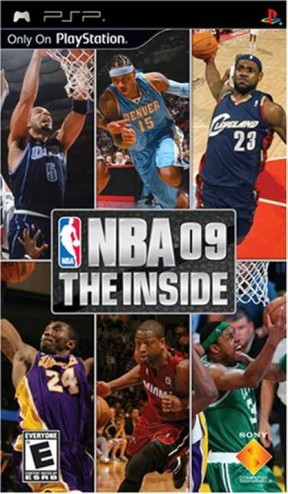 Bestselling Games (2008) - NBA '09 The Inside