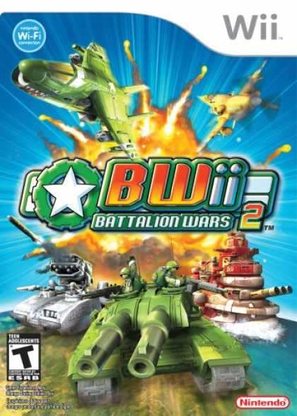 Bestselling Games (2008) - Battalion Wars 2