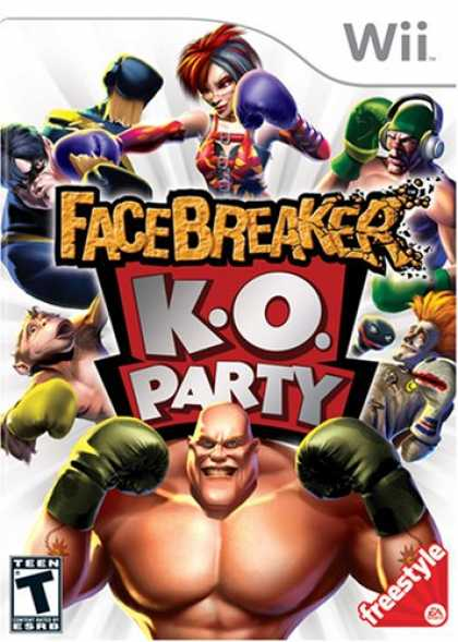Bestselling Games (2008) - FaceBreaker K.O. Party