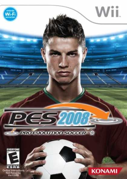 Bestselling Games (2008) - Pro Evolution Soccer 2008