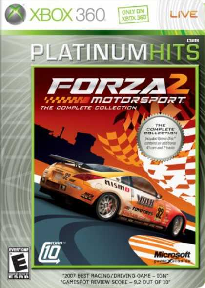 Bestselling Games (2008) - Forza 2 Platinum Hits