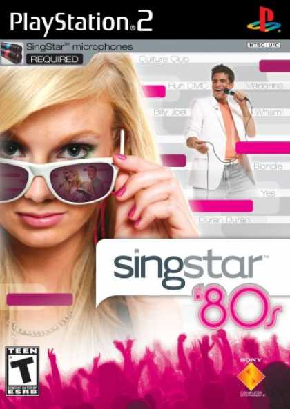 Bestselling Games (2008) - SingStar 80's (Stand Alone)