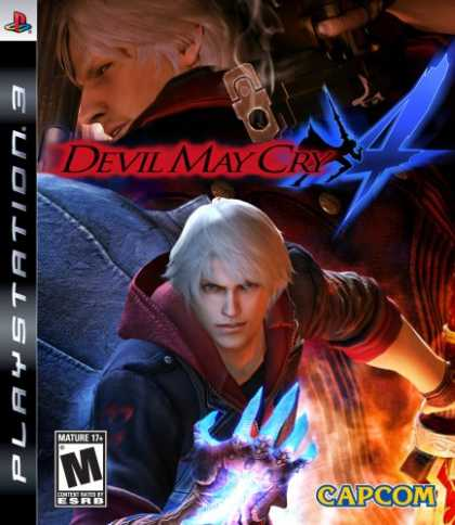Bestselling Games (2008) - Devil May Cry 4