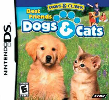 Bestselling Games (2008) - Paws & Claws: Best Friends - Dogs & Cats