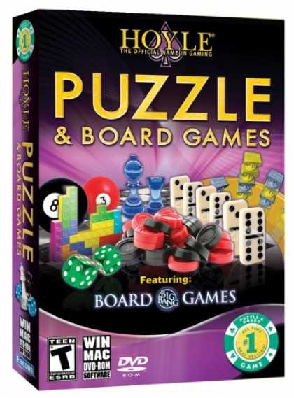 Bestselling Games (2008) - Hoyle Puzzle & Board Games 2009