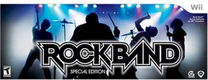 Bestselling Games (2008) - Wii Rock Band Special Edition