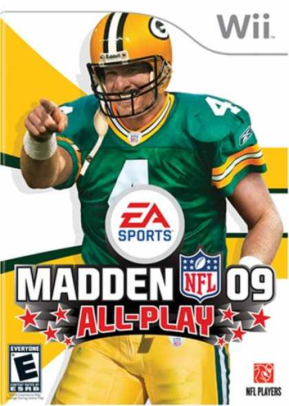 Bestselling Games (2008) - Madden NFL 09 All-Play