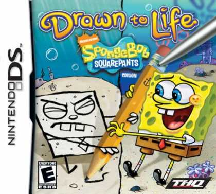 Bestselling Games (2008) - Drawn to Life: Spongebob Squarepants Edition