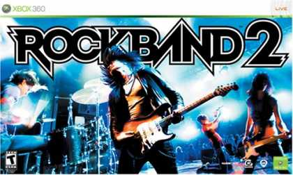 Bestselling Games (2008) - Xbox 360 Rock Band 2 Special Edition