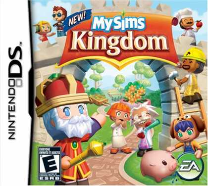 Bestselling Games (2008) - MySims Kingdom