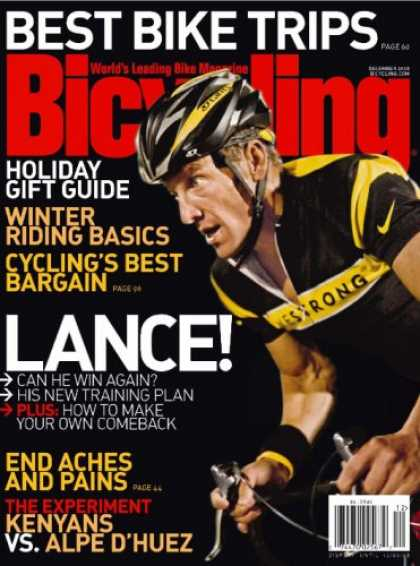 Bestselling Magazines (2008) - Bicycling