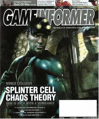 Bestselling Magazines (2008) - Game Informer