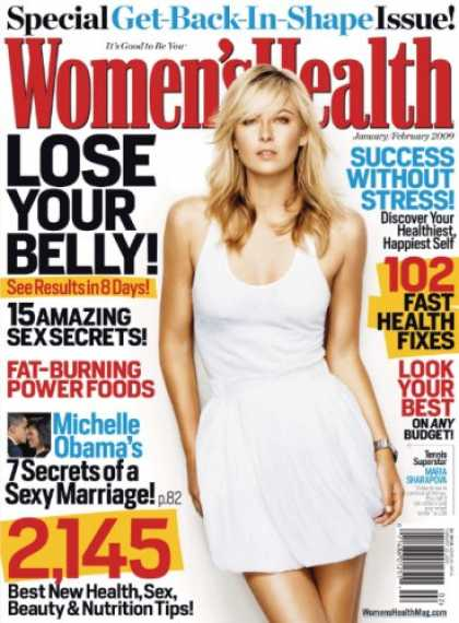 Bestselling Magazines (2008) - Women's Health