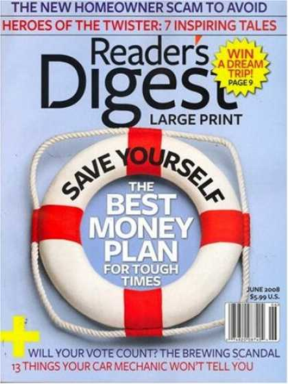 Bestselling Magazines (2008) - Reader's Digest - Large Print Edition