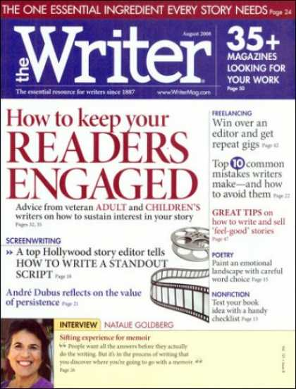 Bestselling Magazines (2008) - The Writer