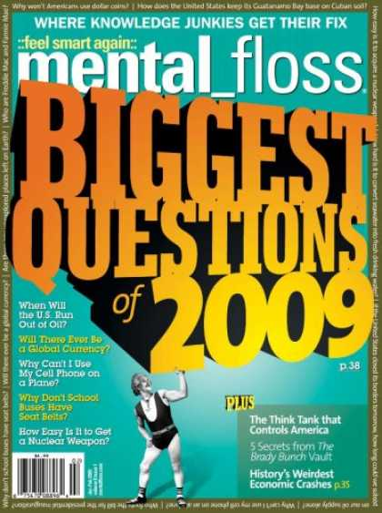 Bestselling Magazines (2008) - Mental Floss