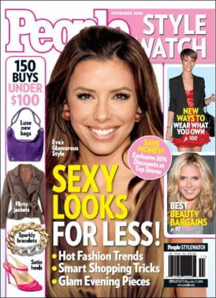 Bestselling Magazines (2008) - PEOPLE StyleWatch