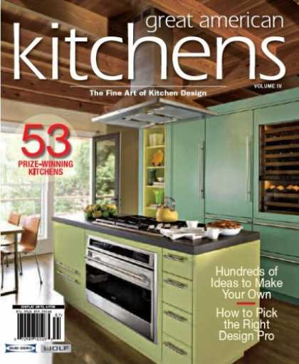 Bestselling Magazines (2008) - Great American Kitchens, 2008 Issue Vol. 4