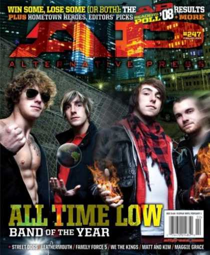 Bestselling Magazines (2008) - Alternative Press