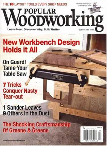 Bestselling Magazines (2008) - Popular Woodworking