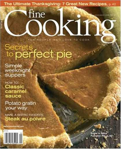 Bestselling Magazines (2008) - Fine Cooking