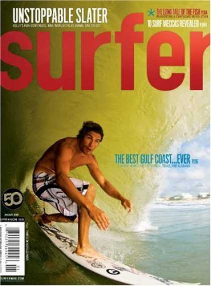 Bestselling Magazines (2008) - Surfer