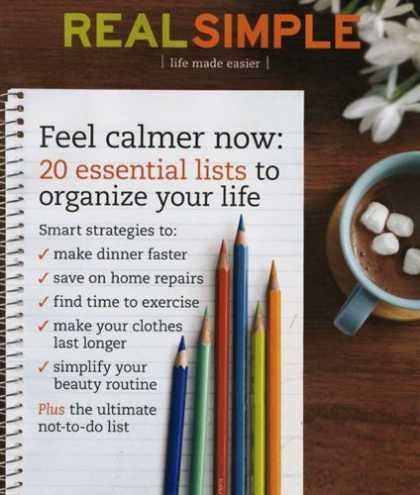 Bestselling Magazines (2008) - Real Simple