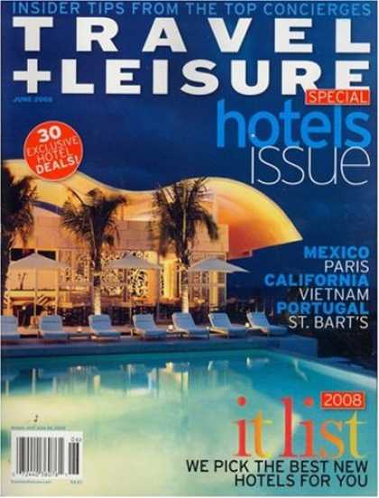 Bestselling Magazines (2008) - Travel + Leisure