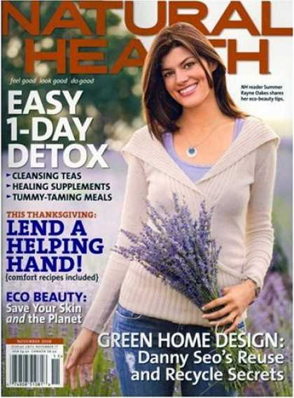 Bestselling Magazines (2008) - Natural Health