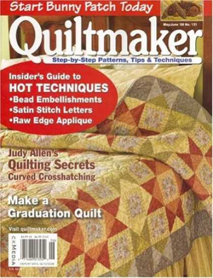 Bestselling Magazines (2008) - Quiltmaker