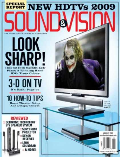 Bestselling Magazines (2008) - Sound & Vision
