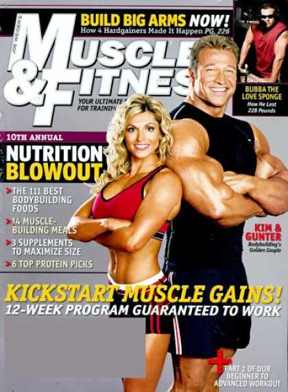 Bestselling Magazines (2008) - Muscle & Fitness