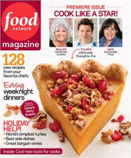 Bestselling Magazines (2008) - Food Network Magazine