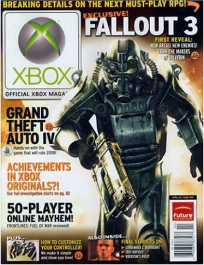 Bestselling Magazines (2008) - The Official Xbox Magazine [1-year]