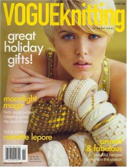 Bestselling Magazines (2008) - Vogue Knitting International